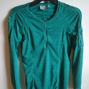 Athleta Women's Running 1/4 Zip Pullover - small